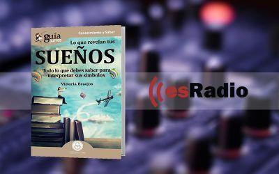"""Entrevista a Victoria Braojos por su libro «GuíaBurros: Lo que revelan tus sueños» en """"Kilómetro Cero"""", en esRadio"""
